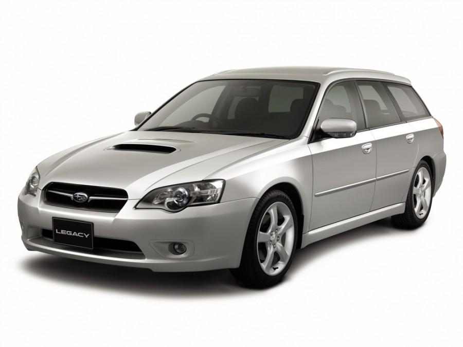 Subaru Legacy универсал, 2003–2009, 4 поколение - отзывы, фото и характеристики на Car.ru