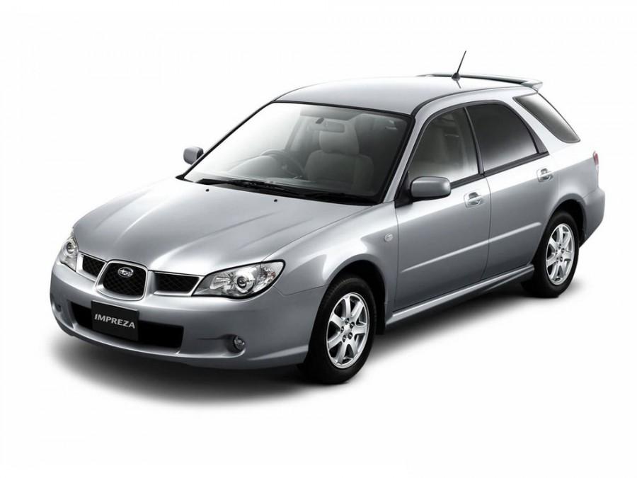 Subaru Impreza универсал, 2005–2007, 2 поколение [2-й рестайлинг] - отзывы, фото и характеристики на Car.ru