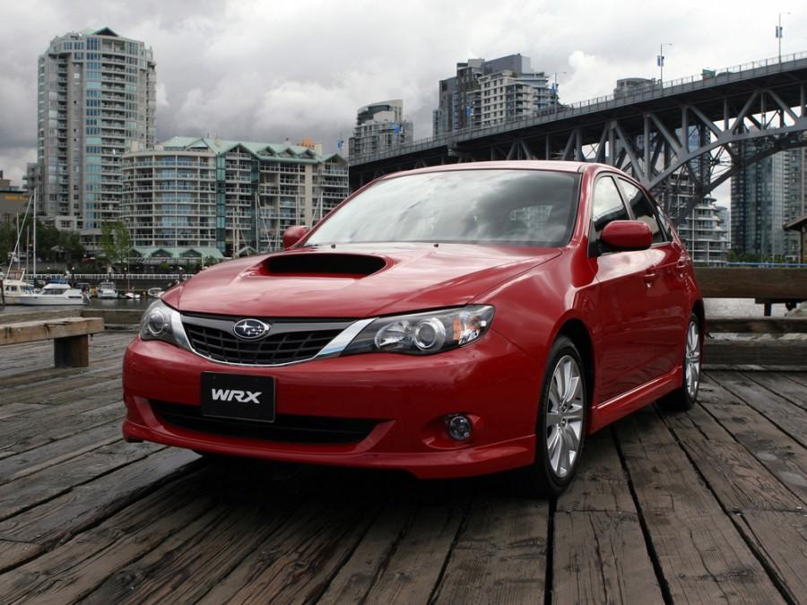 Subaru Impreza WRX хетчбэк 5-дв., 2007–2012, 3 поколение - отзывы, фото и характеристики на Car.ru