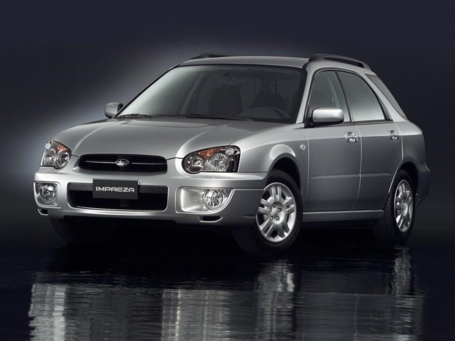 Subaru Impreza универсал, 2002–2007, 2 поколение [рестайлинг] - отзывы, фото и характеристики на Car.ru