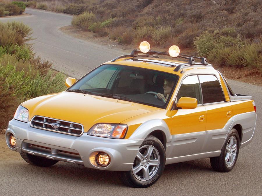 Subaru Baja пикап, 2002–2006, 1 поколение - отзывы, фото и характеристики на Car.ru