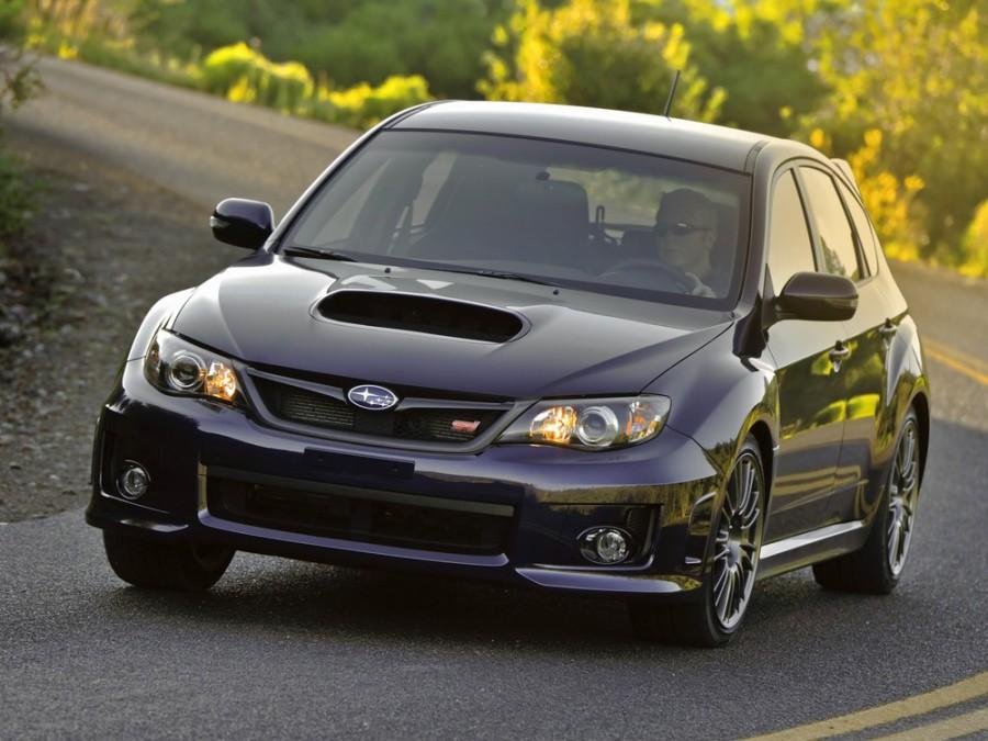 Subaru Impreza WRX STI хетчбэк 5-дв., 2010–2013, 3 поколение [рестайлинг] - отзывы, фото и характеристики на Car.ru