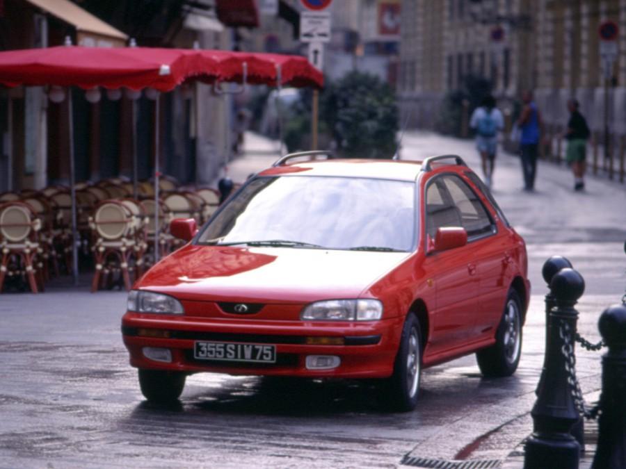Subaru Impreza универсал, 1992–2000, 1 поколение - отзывы, фото и характеристики на Car.ru