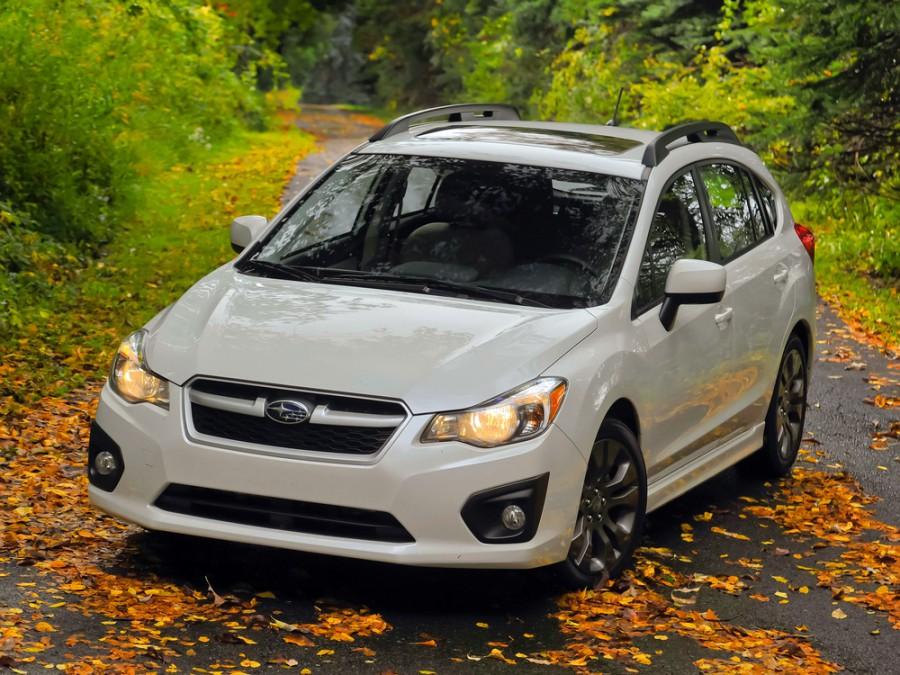 Subaru Impreza хетчбэк, 2012–2016, 4 поколение - отзывы, фото и характеристики на Car.ru