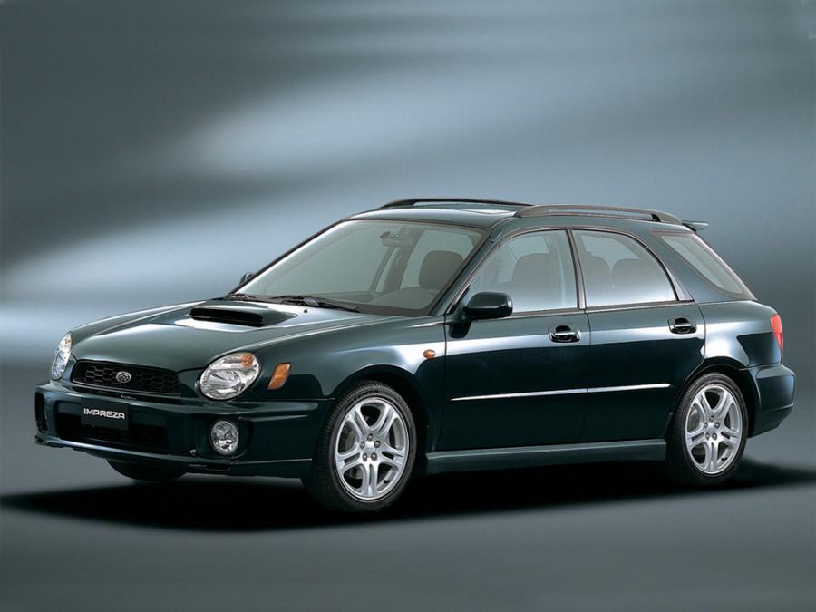 Subaru Impreza WRX универсал, 2000–2002, 2 поколение - отзывы, фото и характеристики на Car.ru