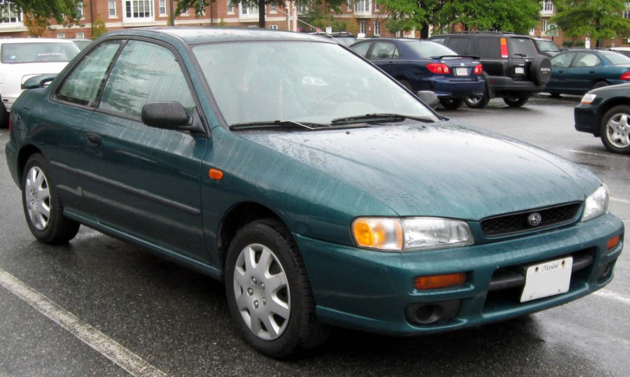 Subaru Impreza купе, 1992–2000, 1 поколение - отзывы, фото и характеристики на Car.ru