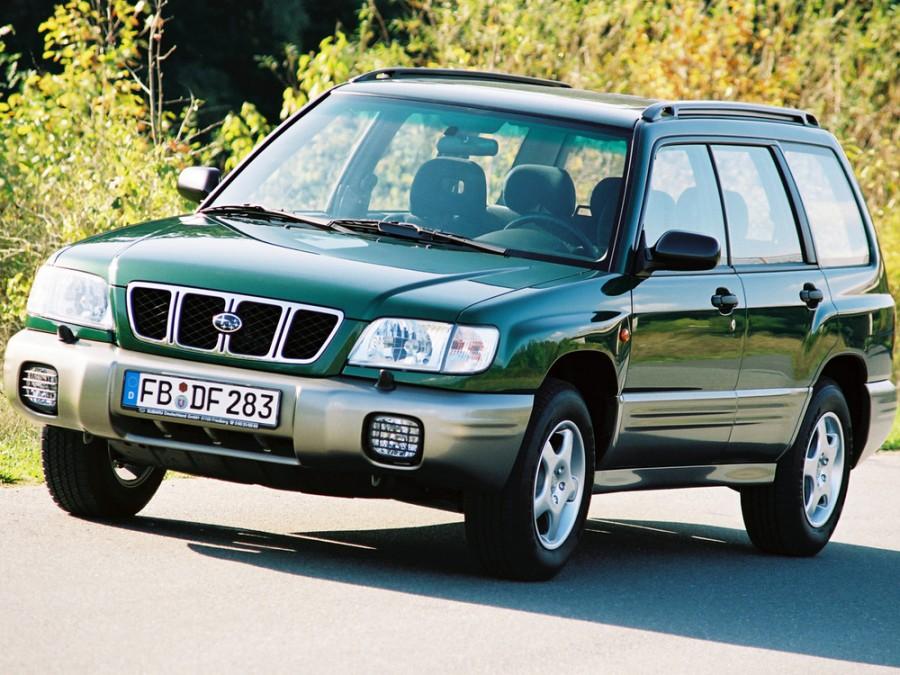 Subaru Forester кроссовер, 2000–2002, 1 поколение [рестайлинг] - отзывы, фото и характеристики на Car.ru