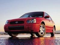 Subaru Impreza, 2 поколение [рестайлинг], Седан, 2002–2007