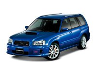 Subaru Forester, 2 поколение, Sti кроссовер 5-дв., 2003–2005