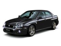 Subaru Impreza, 2 поколение [рестайлинг], Wrx седан, 2002–2007