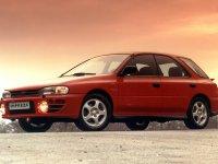 Subaru Impreza, 1 поколение [рестайлинг], Универсал, 1998–2000