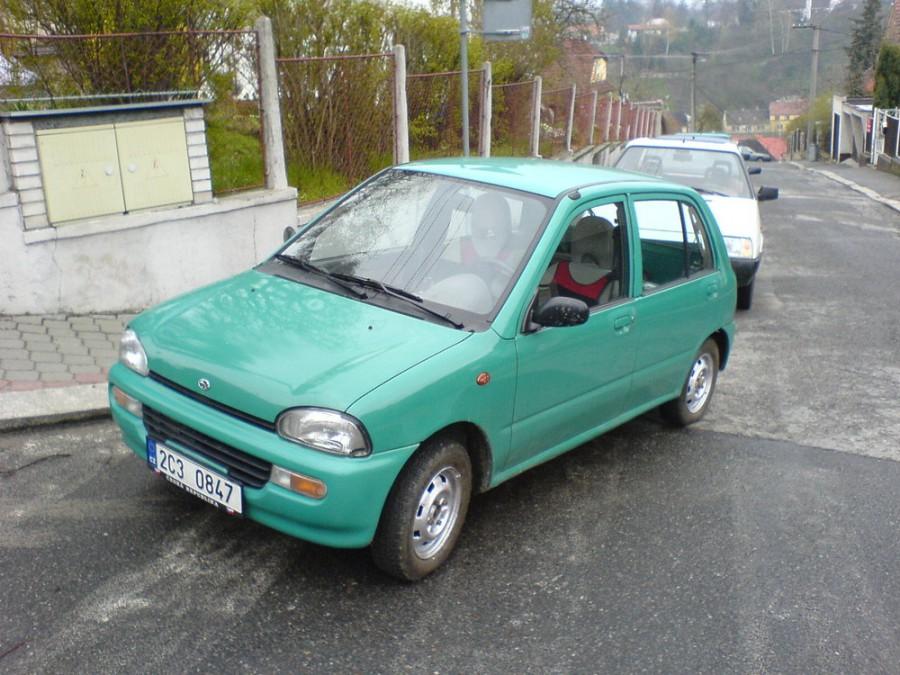 Subaru Vivio хетчбэк 5-дв., 1992–2016, 1 поколение - отзывы, фото и характеристики на Car.ru