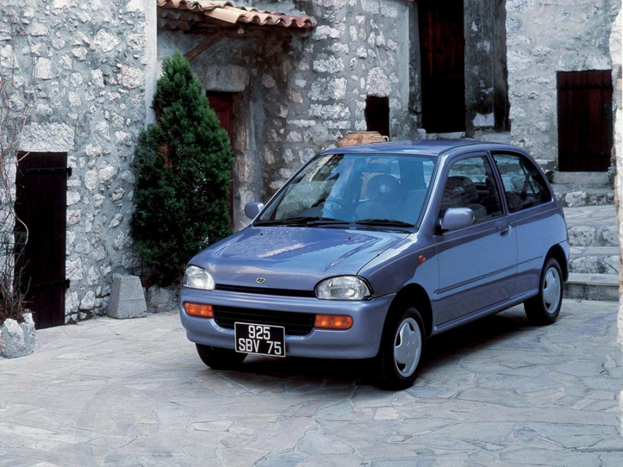 Subaru Vivio хетчбэк, 1992–2016, 1 поколение - отзывы, фото и характеристики на Car.ru