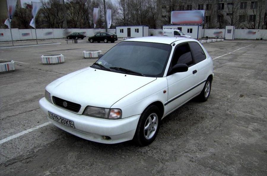 Suzuki Baleno хетчбэк, 1995–2002, 1 поколение - отзывы, фото и характеристики на Car.ru