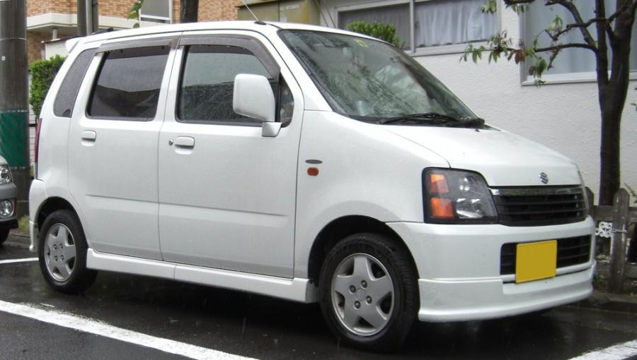 Suzuki Wagon R минивэн 5-дв., 2000–2003, 2 поколение [рестайлинг] - отзывы, фото и характеристики на Car.ru