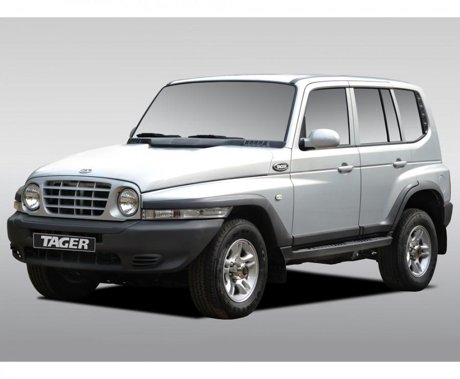 Tagaz Tager внедорожник 5-дв., 2008–2013, 1 поколение - отзывы, фото и характеристики на Car.ru