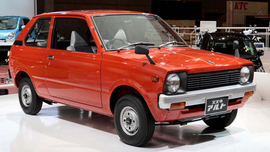 Suzuki Alto хетчбэк 3-дв., 1979–1984, 1 поколение - отзывы, фото и характеристики на Car.ru