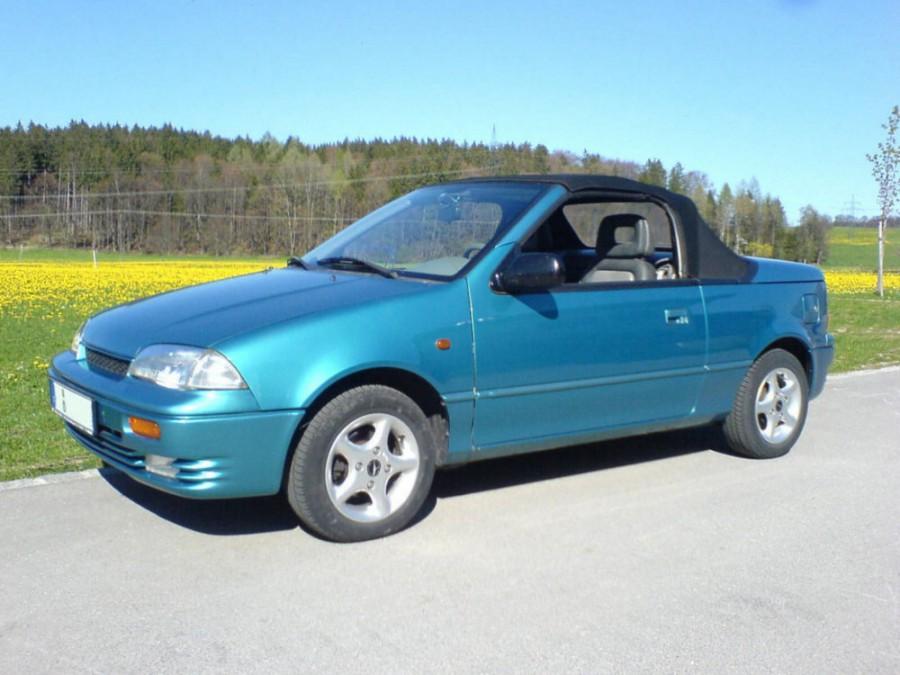 Suzuki Swift кабриолет, 1990–1996, 2 поколение - отзывы, фото и характеристики на Car.ru