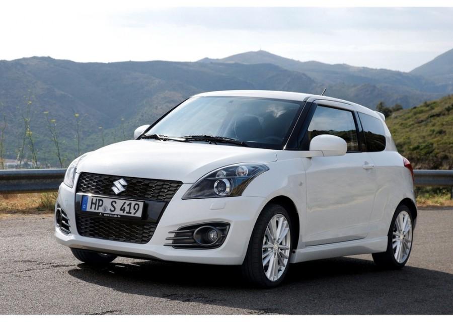 Suzuki Swift Sport хетчбэк 3-дв., 2010–2014, 4 поколение - отзывы, фото и характеристики на Car.ru