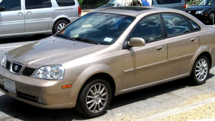 Suzuki Forenza седан, 2003–2006, 1 поколение - отзывы, фото и характеристики на Car.ru