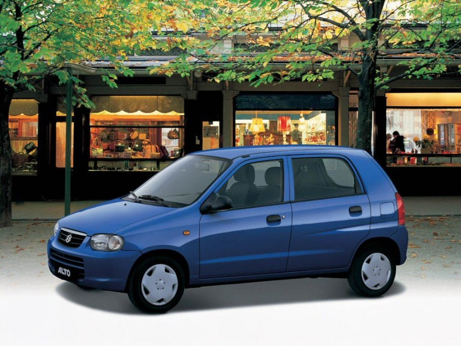 Suzuki Alto хетчбэк, 1998–2014, 5 поколение - отзывы, фото и характеристики на Car.ru