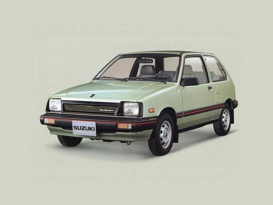 Suzuki Swift хетчбэк 3-дв., 1984–1986, 1 поколение - отзывы, фото и характеристики на Car.ru