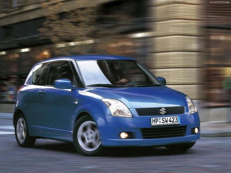 Suzuki Swift хетчбэк 3-дв., 2004–2010, 3 поколение - отзывы, фото и характеристики на Car.ru