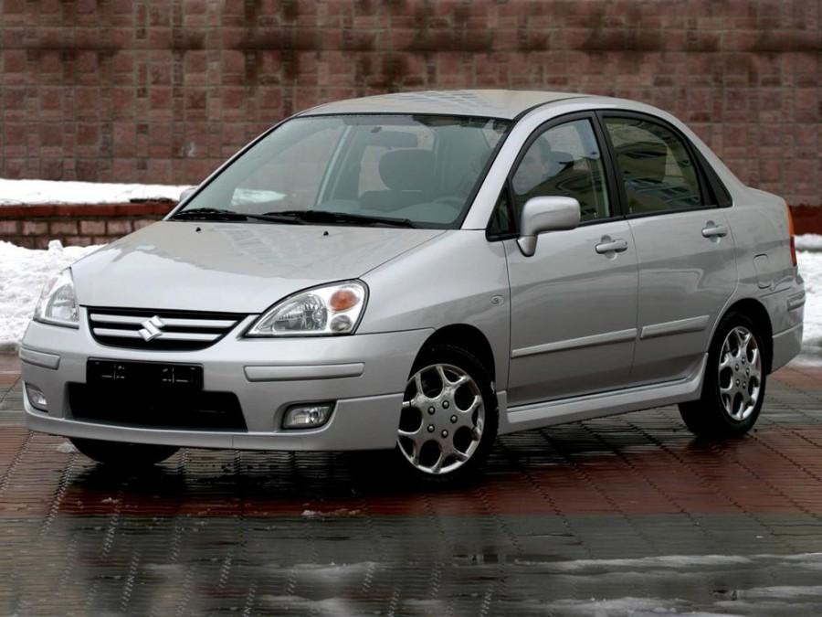 Suzuki Liana седан, 2004–2007, 1 поколение [рестайлинг] - отзывы, фото и характеристики на Car.ru