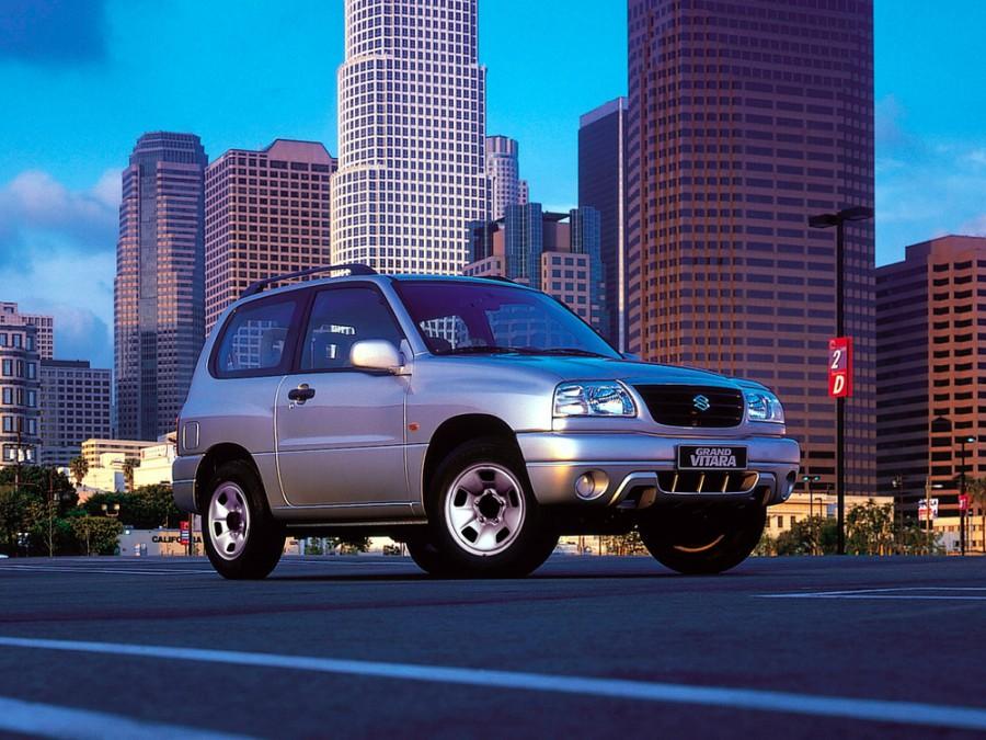 Suzuki Grand Vitara кроссовер 3-дв., 1998–2005, 1 поколение - отзывы, фото и характеристики на Car.ru