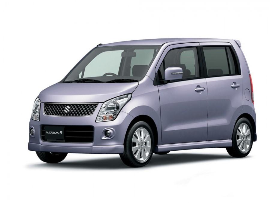 Suzuki Wagon R минивэн, 2008–2014, 4 поколение - отзывы, фото и характеристики на Car.ru