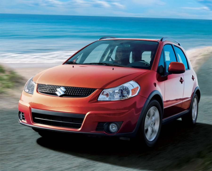 Suzuki SX4 хетчбэк, 2006–2012, 1 поколение - отзывы, фото и характеристики на Car.ru