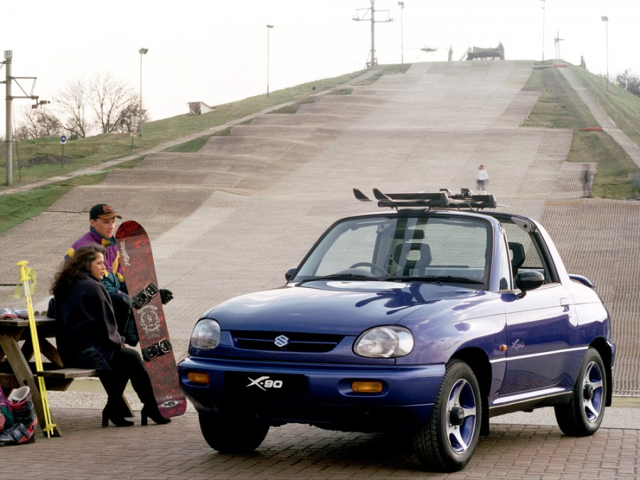Suzuki X-90 тарга, 1995–1997, EL - отзывы, фото и характеристики на Car.ru