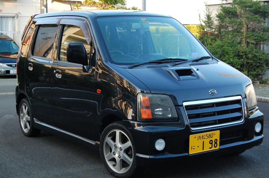 Suzuki Wagon R RR минивэн 5-дв., 1998–2003, 2 поколение - отзывы, фото и характеристики на Car.ru