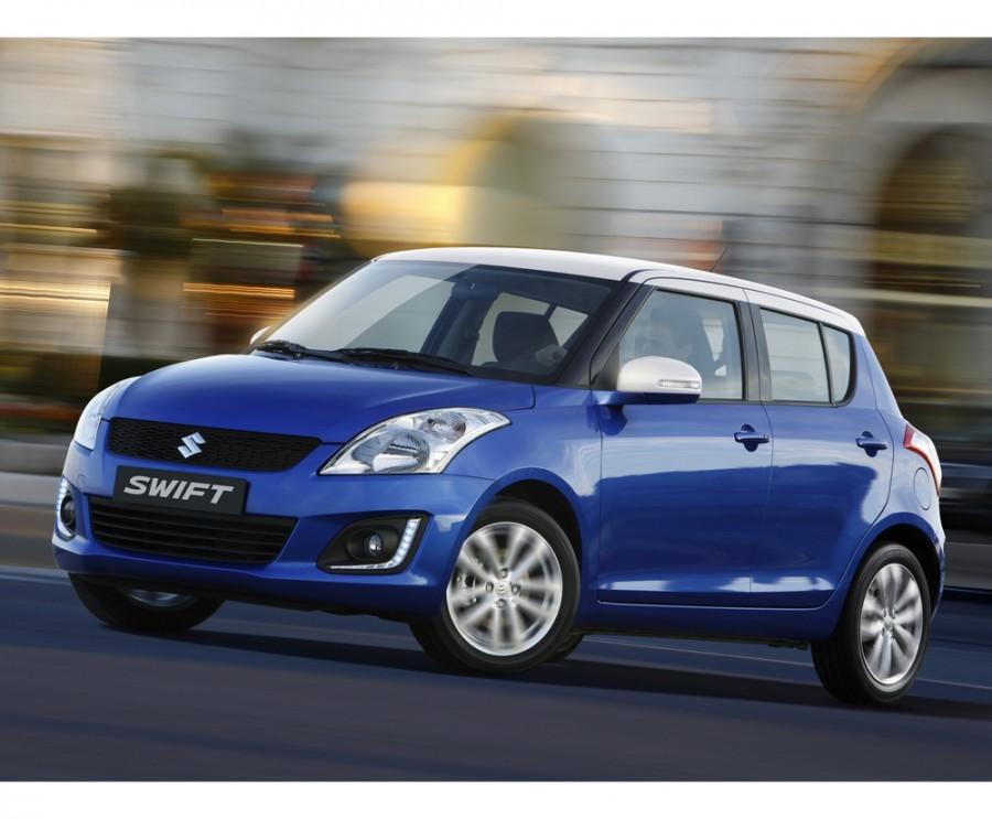 Suzuki Swift хетчбэк 5-дв., 4 поколение [рестайлинг], 1.2 МТ 4WD (94 л.с.), GLX 2013 года, опции