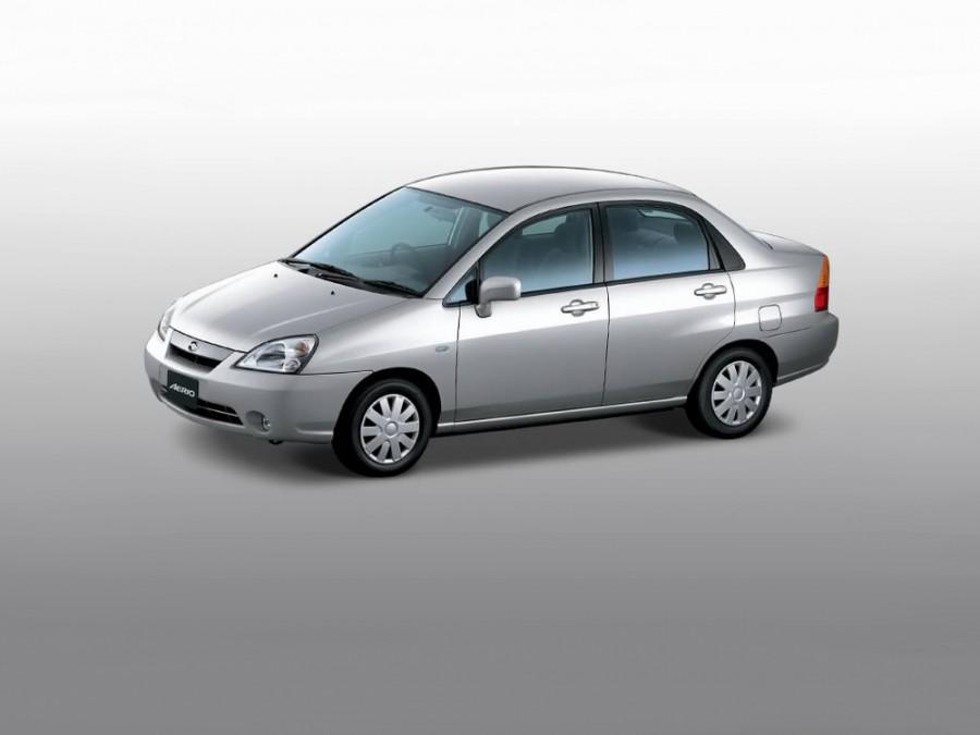 Suzuki Aerio седан, 2002–2004, 1 поколение - отзывы, фото и характеристики на Car.ru