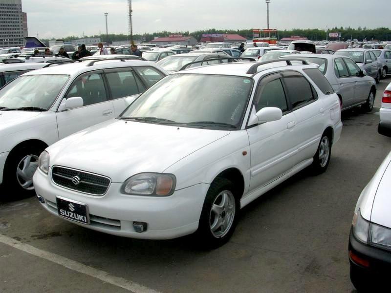 Suzuki Cultus универсал, 1995–2002, 1 поколение - отзывы, фото и характеристики на Car.ru
