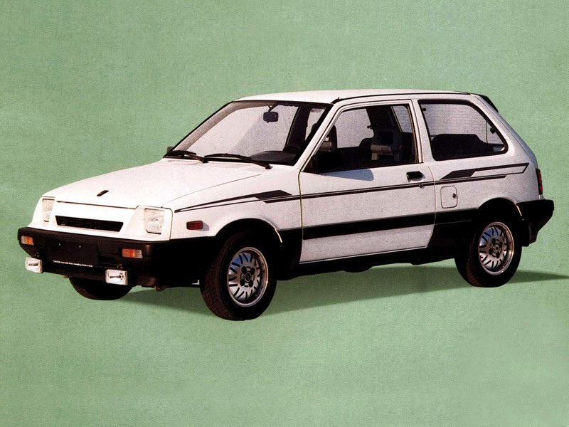Suzuki Swift хетчбэк, 1986–1988, 1 поколение [рестайлинг] - отзывы, фото и характеристики на Car.ru