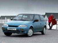 Suzuki Swift, 2 поколение, Хетчбэк 3-дв., 1990–1996
