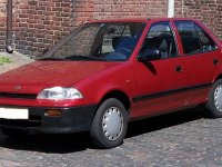 Suzuki Swift, 2 поколение, Седан 4-дв., 1990–1996