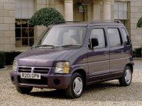 Suzuki Wagon R, 1 поколение, Минивэн 5-дв., 1993–1999
