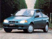 Suzuki Swift, 2 поколение [рестайлинг], Хетчбэк 3-дв., 1996–2004