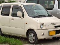 Suzuki Wagon R, 2 поколение [рестайлинг], C2 минивэн, 2000–2003