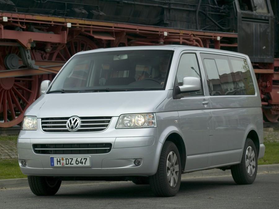 Volkswagen Caravelle микроавтобус, 2004–2009, T5 - отзывы, фото и характеристики на Car.ru