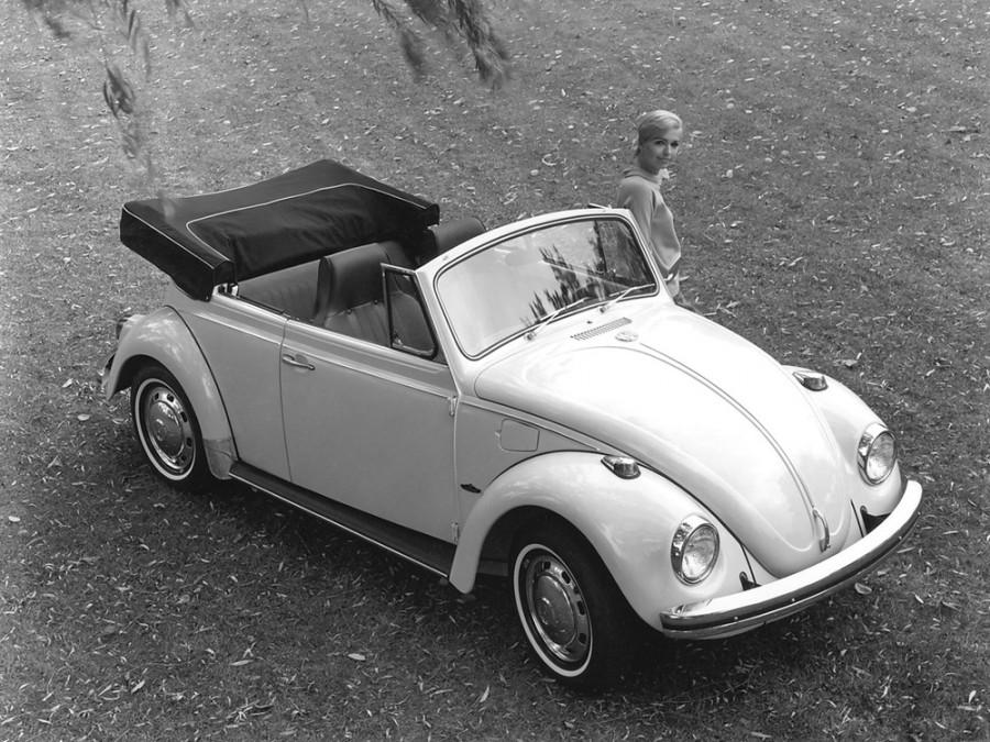 Volkswagen Beetle кабриолет, 1968–1973, 1200/1300/1500 [2-й рестайлинг] - отзывы, фото и характеристики на Car.ru