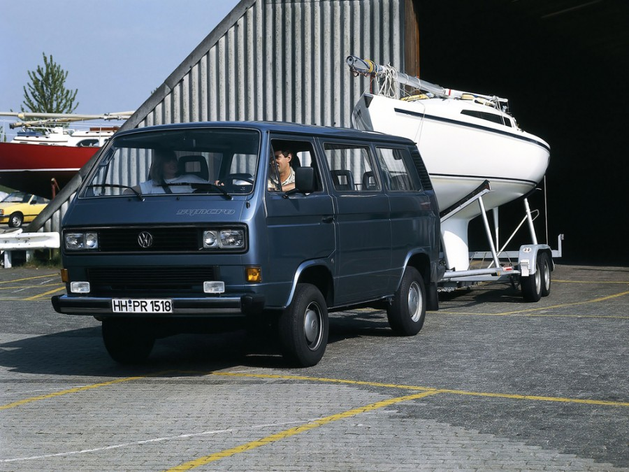 Volkswagen Caravelle микроавтобус, T3 - отзывы, фото и характеристики на Car.ru