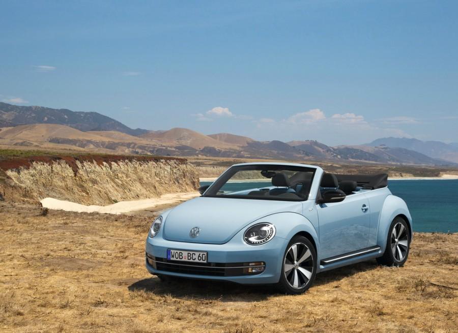 Volkswagen Beetle кабриолет, 2012–2016, 2 поколение - отзывы, фото и характеристики на Car.ru