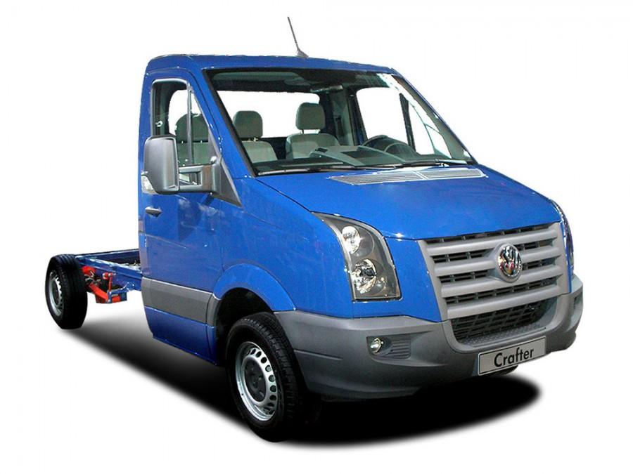 Volkswagen Crafter шасси 2-дв., 2006–2011, 1 поколение - отзывы, фото и характеристики на Car.ru