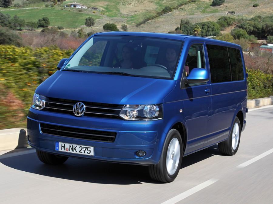 Volkswagen Caravelle микроавтобус, 2010–2016, T5 [рестайлинг] - отзывы, фото и характеристики на Car.ru