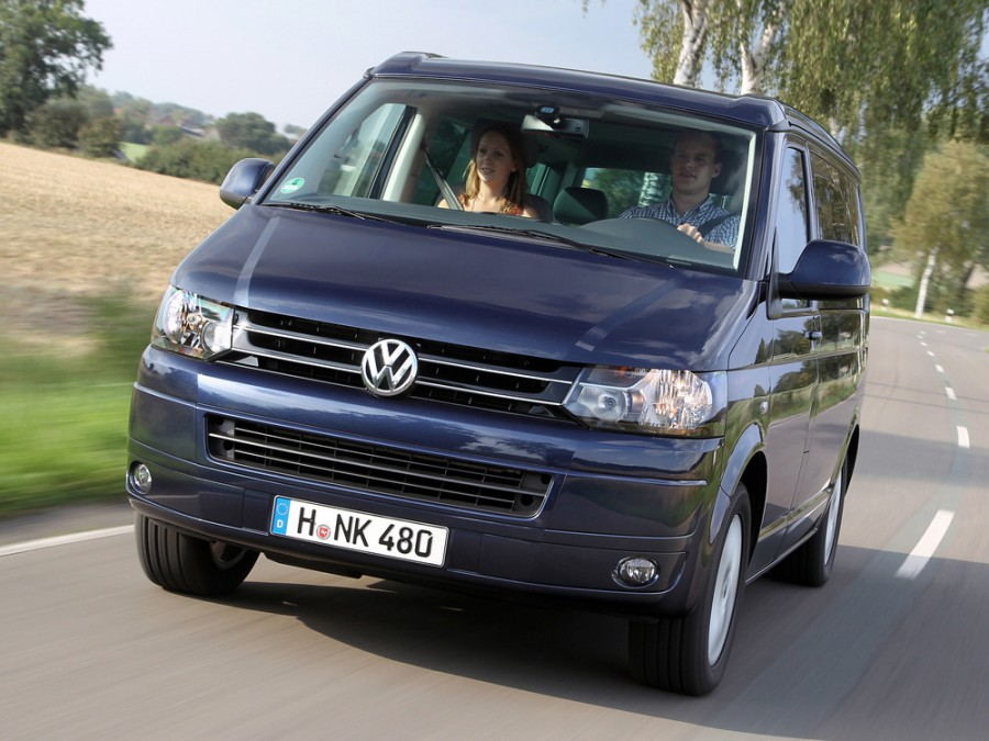 Volkswagen California микроавтобус, 2010–2016, T5 [рестайлинг] - отзывы, фото и характеристики на Car.ru