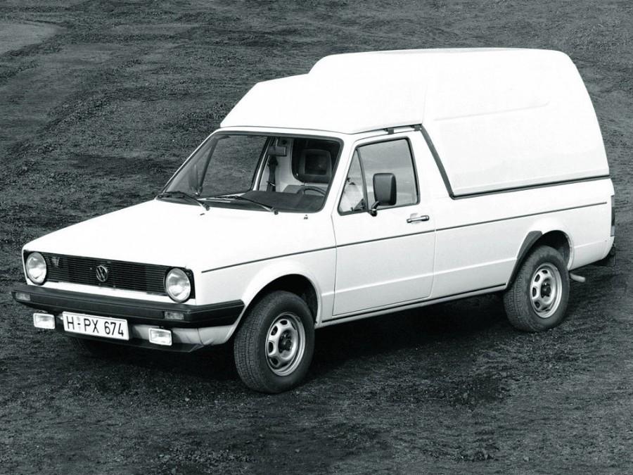 Volkswagen Caddy пикап, 1983–1992, 1 поколение - отзывы, фото и характеристики на Car.ru
